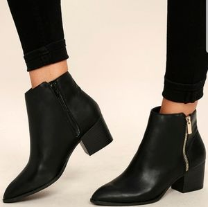 Lulus Pointed Ankle Boots